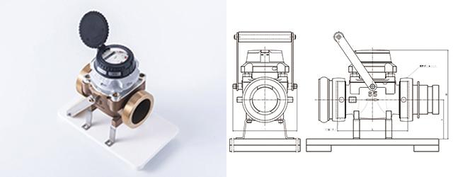 直読式流量計(船舶用) WPDP-65